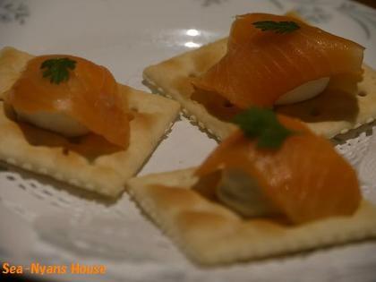 クリームチーズとスモークサーモン.jpg